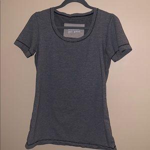 Lululemon size 8 striped t-shirt